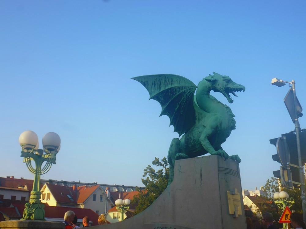 Miasto i Most Smoków - Lublana w Słowenii