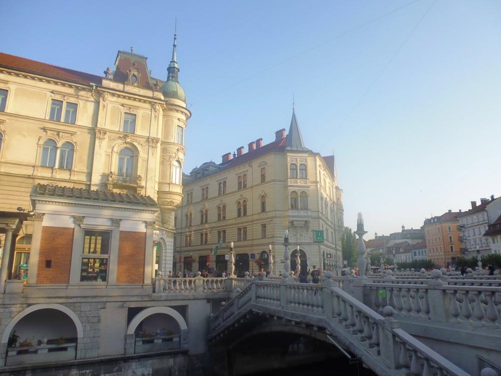 Mosty w Lublanie w Słowenii