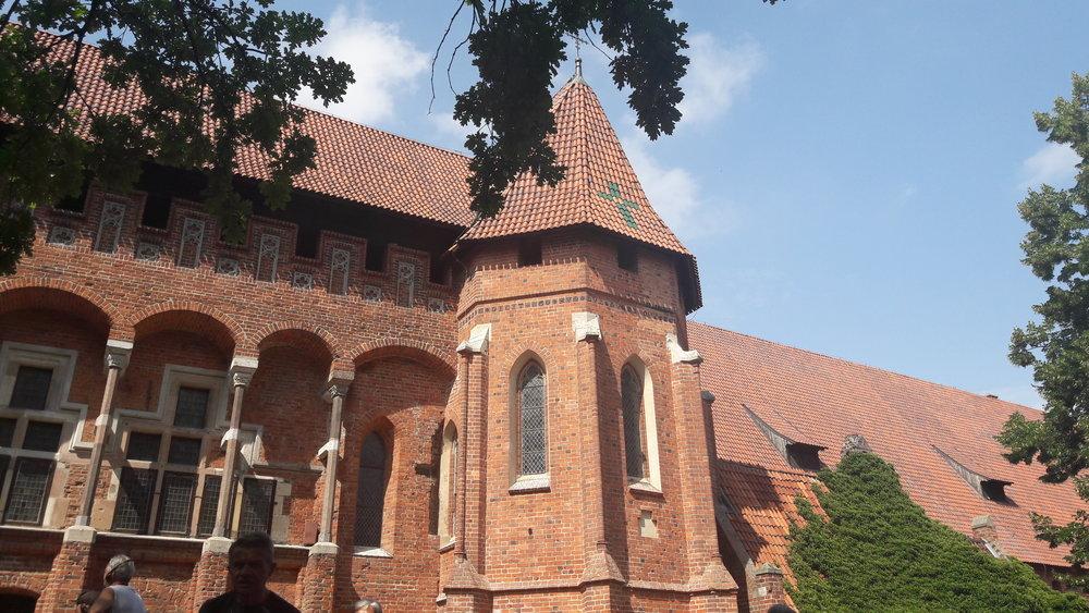 zdjęcia Malborka podczas zwiedzania Malborka