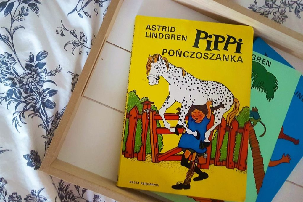 Pippi Pończoszanka - piękna ksiażka dla dzieci któa daje odwagę do bycia sobą