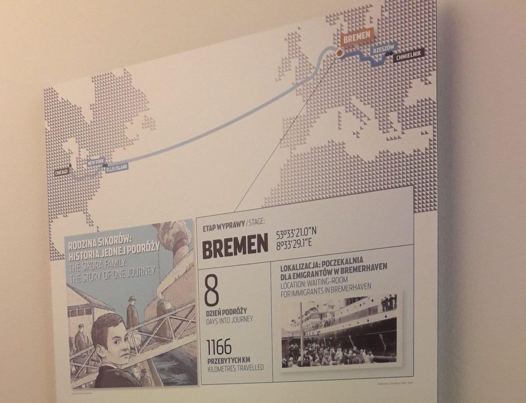 jak Polacy emigrowali - interaktywne Muzeum Emigracji w Gdynii