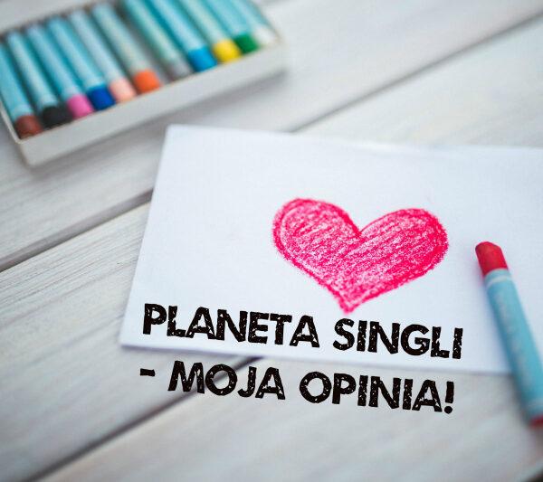 Planeta Singli - serce i kredki