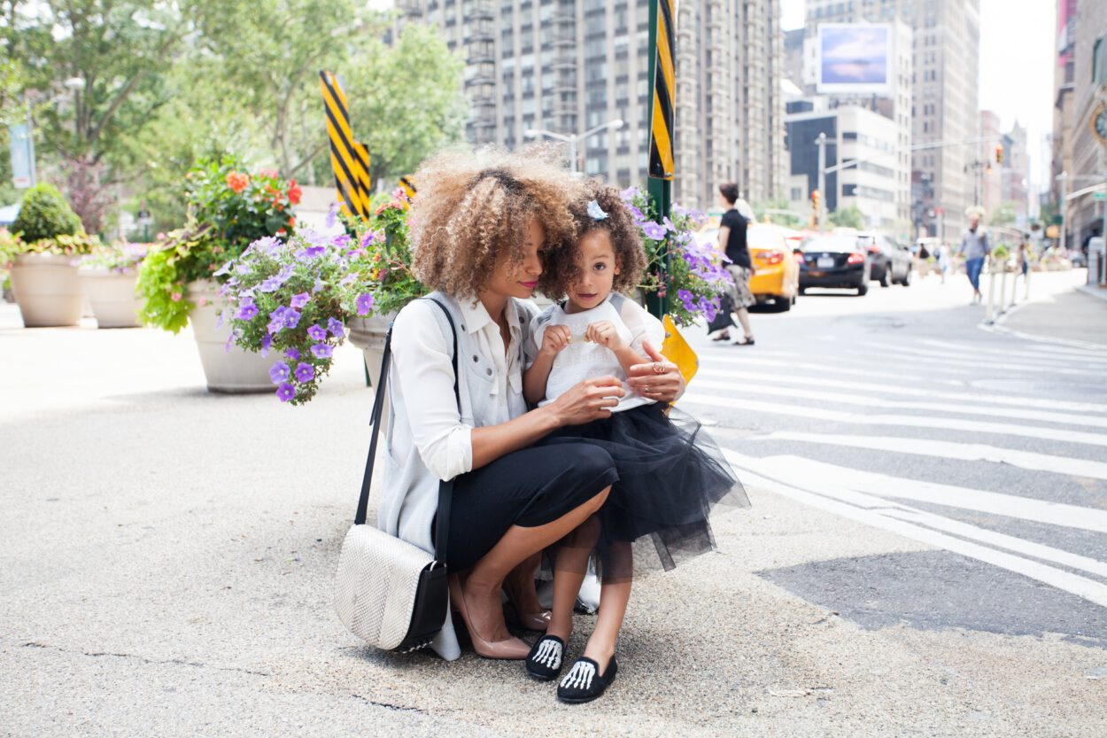 Dzień Matki - matka z córką