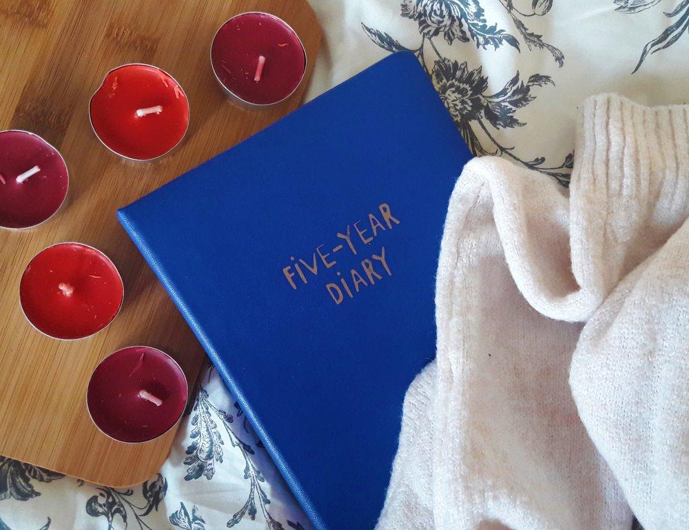 rzucenie studiów - kalendarz 5 years diary z tigera