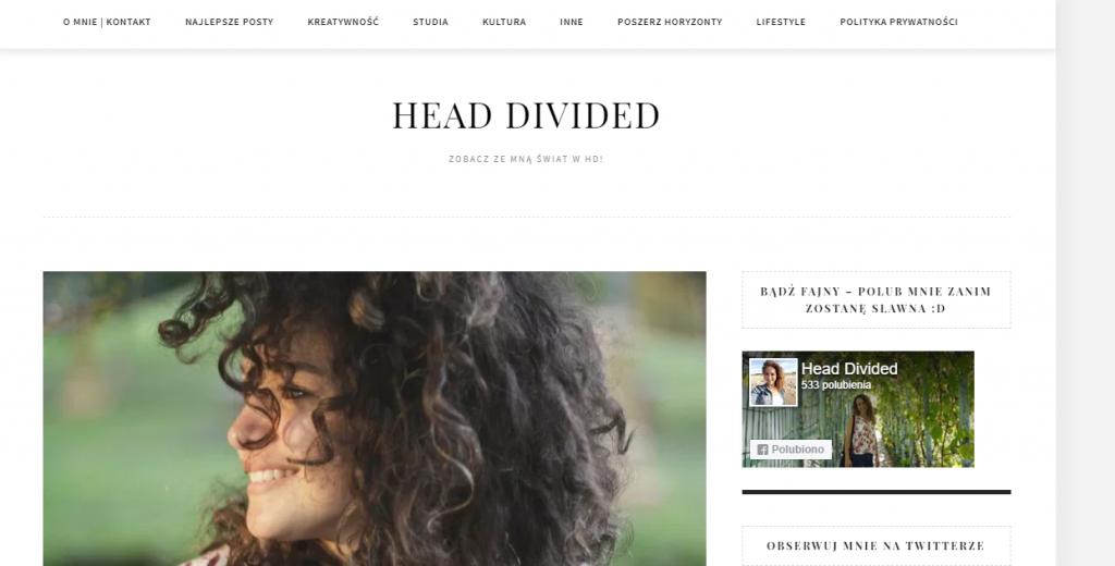 nowy szablon na blogu
