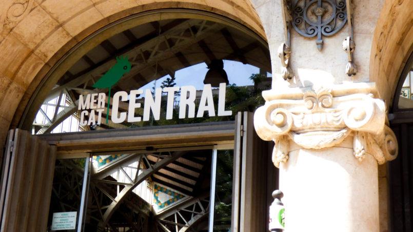 Mercado Central w Walencji w Hiszpanii