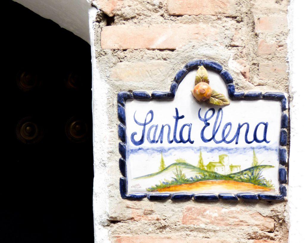 Santa Elena - uliczka w Grenadzie
