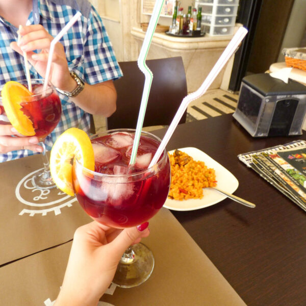sangria - tinto de verano podczas wycieczki do Grenady