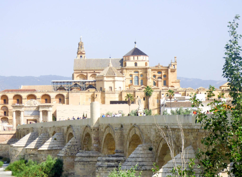 Widok na Kordobę w Hiszpanii -Hiszpania w zdjęciach