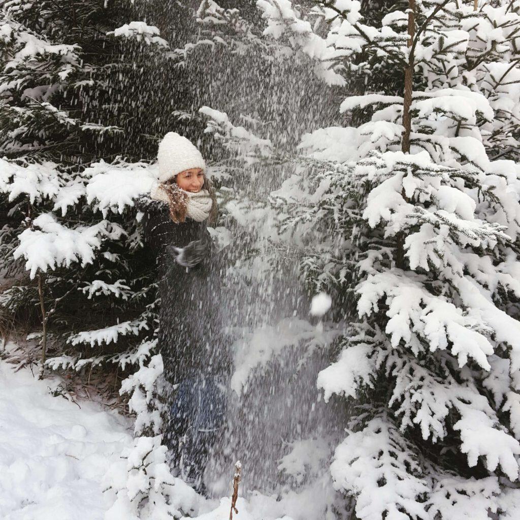 rok 2018 w zdjęciach - luty - mój przyjaciel śnieg