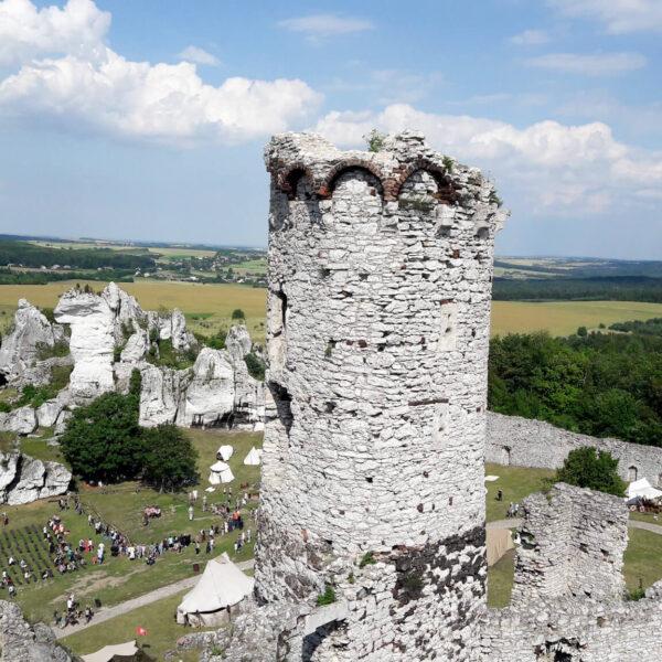 piękne zamki w Polsce - zamek w Ogrodzieńcu 2