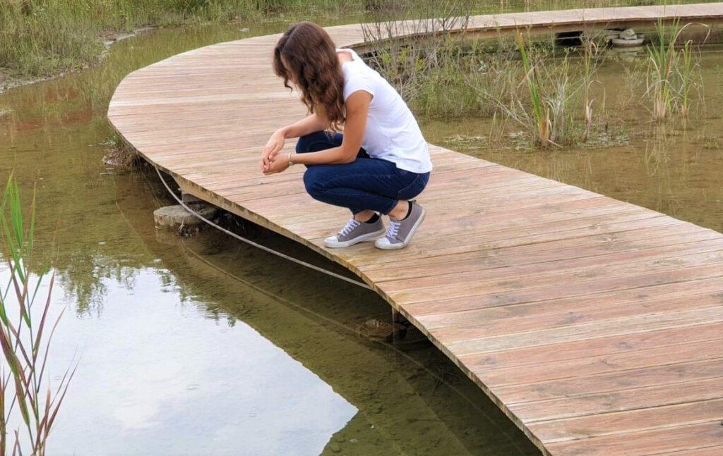 jeziorko w Parku Gródek w Jaworznie - refleksje o rozmowach z ludźmi o odmiennych poglądach